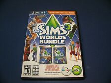 The Sims 3 Worlds Bundle PC & Sims 3 Expansion Pack