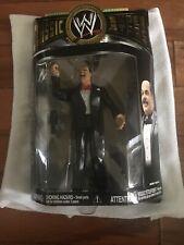 WWE Jakks Classic Superstars Series 14 Mean Gene Okerlund Figure In Package