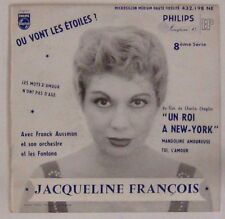 Un roi à New-York 45 tours Jacqueline François 1956