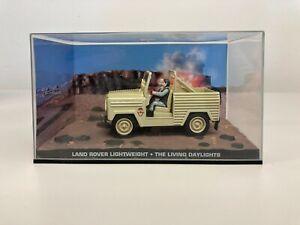 Land Rover Lightweight James Bond 007 Collection Car Living Daylights Z12 #75
