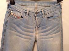 """ Diesel "" W27"" Men's Stonewashed Bootcut Denim Jeans Trousers L 33"""