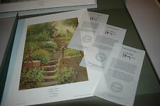 G Harvey SPRINGTIME IN EUROPE S/N paper Suite SET OF 3 Limited Editions Mint COA