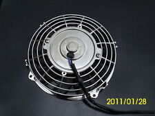 7 INCH 12V CHROME ELECTRIC COOLING FAN PERFORMANCE THERMO FAN 12VOLT f22