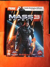 MASS 3-EFFECT- GUIDA STRATEGICA UFFICIALE-XBOX 360-NUOVO-ENTRA-DISP.ALTRI