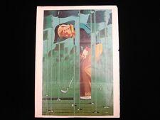 """Jack Nicklaus Autographed 8"""" x 11"""" Magazine Page - B&E Holo"""