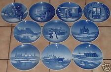 10 WEIHNACHTSTELLER 1950-1959 VON BING&GRÖNDAHL #227