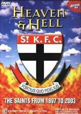 Heaven And Hell - 100 Years Of The Saints - History Of St Kilda (DVD, 2003) NEW