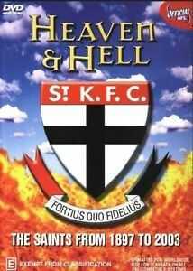 AFL Heaven And Hell - 100 Years Of The Saints - History Of St Kilda (DVD, 2003)