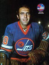 1975 Winnipeg Jets Home vs Edmonton Oilers WHA World Hockey Assn Program
