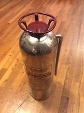 "Vintage ""STANDARD""  Fire Extinguisher 1064 San Francisco / Santa Monica U.S.A."