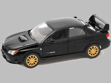 MOTOR MAX 1:24 DISPLAY 2005 SUBARU IMPREZA WRX STI Diecast Car Model 74330 Black