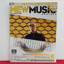DJ Shadow CMJ New Music Magazine Terence Trent D'Arby Rye Coalition June 2002!