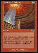 Flamme ouverture/Flame rift | ex | Nemesis | GER | Magic MTG
