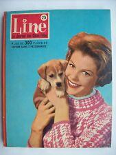 Line reliure album belge n°25 1960 TBE Tintin Lombard