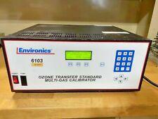 Environics 6103 Ozone Transfer Multi-Gas Calibrator