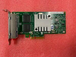 HP NC365T PCI-Express 1GB Quad Port Gigabit Ethernet Server Adapter 593720-001