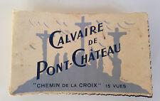 15 CARTES POSTALES DETACHABLES // CALVAIRE DE PONT CHATEAU / CHEMIN DE LA CROIX
