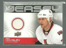 2010-11 Upper Deck Game Jerseys #GJAK Alex Kovalev (ref 78145)