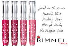 Rimmel STAY GLOSSY 6 hr LIP GLOSS 140 Always Lovely PINK SHIMMER Sealed! NEW