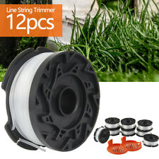 """12X 30ft 0.065""""Line String Trimmer Replacement Spool Cover Spring Black+Decker"""