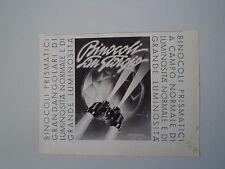 advertising Pubblicità 1939 BINOCOLI SAN GIORGIO
