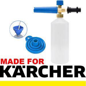 Karcher Compatible Snow Foam Lance Shampoo Car Soap Gun Cleaning Pressure Washer