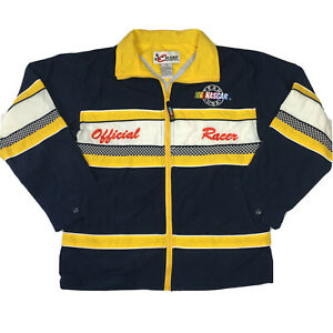 Chase Authentics Nascar Official Racer Jacket Youth Size L 16/18 Vintage 1990s