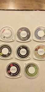 8 PSP GAMES  DISCS ONLY final fantasy gta,starwars + more