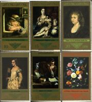 DDR 1892-1897 (kompl.Ausgabe) postfrisch 1973 Gemälde
