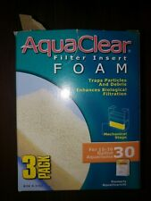 AquaClear 30 / 150 Filter Insert Foam Media 3 pack A-1392 A1392
