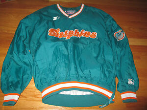 Starter MIAMI DOLPHINS Pro-Line Authentic Embroidered (XL) Jacket