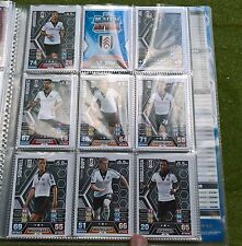 Match Attax - 2013/2014 - Fulham - 11x Cards - Exc Con - Free Post!
