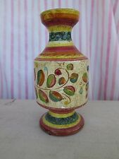 Hand Painted Ceramic Candlestick Candle Holder