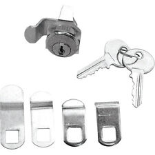 Prime-Line Mailbox Lock Multi Cam Assortment Keys Florence Steel and Brass S4140