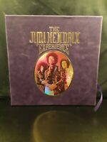 VINYL The Jimi Hendrix Experience box set (big purple box) 8 album lp VG+