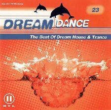 DREAM DANCE 23 - THE BEST OF DREAM HOUSE & TRANCE / 2 CD-SET - TOP-ZUSTAND