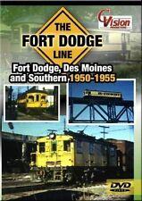 The Fort Dodge Line Fort Dodge, Des Moines & Southern 1950-1955 DVD NEW CVision