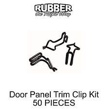 1957 1958 1959 1960 1961 1962 1963 1964 Ford Door Panel Clip Kit 50 PIECE