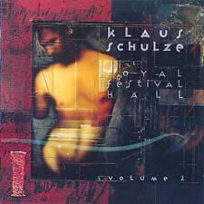 KLAUS SCHULZE Royal Festival Hall Vol 2 CD UK PROG Berlin School Tangerine Dream