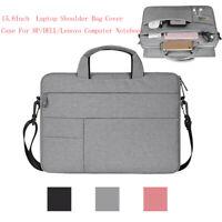 15.6 Inch Laptop Shoulder Bag Cover Case For HP/DELL/Lenovo Computer Notebook