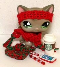 Littlest Pet Shop LPS Christmas Accessories Scarf Headband RANDOM Lot No Pet