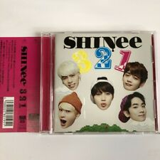 SHINee 321 CD+DVD+PHOTOBOOKLET Frist Limited Edition