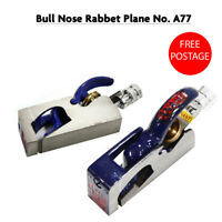 ANANT Woodworking No A77 Bull Nose Rabbet Plane Adjustable Carpenters Tool
