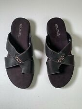 Aerosoles   Adjustment   Sandal   Black   Size 9 M