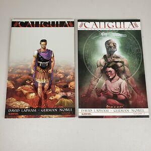 Caligula Graphic Novel Lot Volume 1 and 2 AVATAR David Lapham