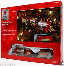 Home Accents Holiday Christmas Tree Train Set 9 ft Track NIB