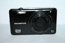 OLYMPUS D-745 14.0 MP DIGITAL CAMERA - BLACK - FAULTY-  -219