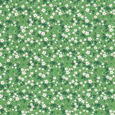 Rose & Hubble Coton Popeline - Verger - Apple Vert Tissu Fabrication de Robes
