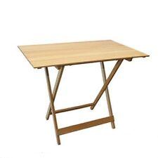 Tavoli / Tavolo pieghevole per giardino terrazzo in legno naturale 100 x 60 cm