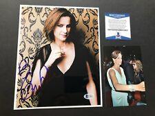 Rachel Griffiths Hot! signed autographed 8x10 photo Beckett BAS coa